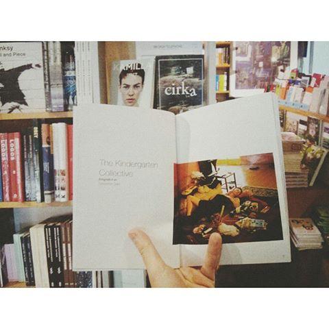 A copy of Cirkmag in an Oslo bookshop (photo courtesy of @SebastianDahl)
