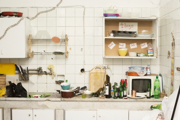 The Kitchen of The Kindergarten Collective (photo courtesy of Mie Brinkmann)