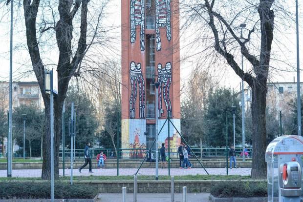 Piazzale Selinunte, San Siro. Foto di Zoe Casati (photo via ViceItalia)