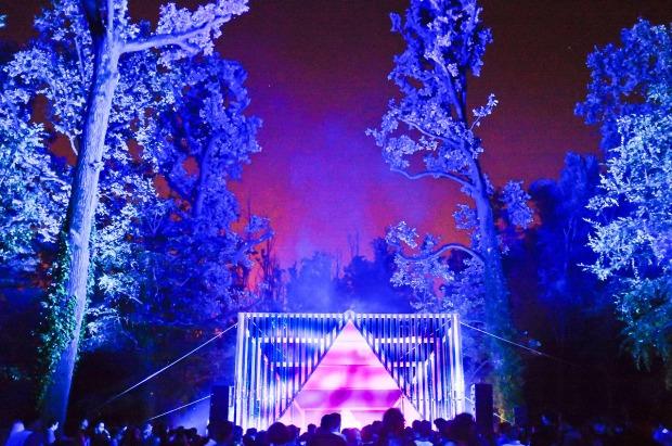 Il palco di Teraforma (foto via @Terrafoma)
