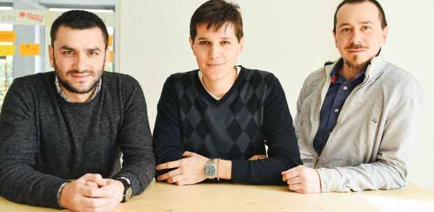 I tre fondatori di Satispay ( foto via@Satispay)
