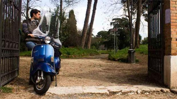 The Vespa, Italy's symbolic mode of transport, has lost its appeal among the general population [Antonella Corigliano/Al Jazeera]
