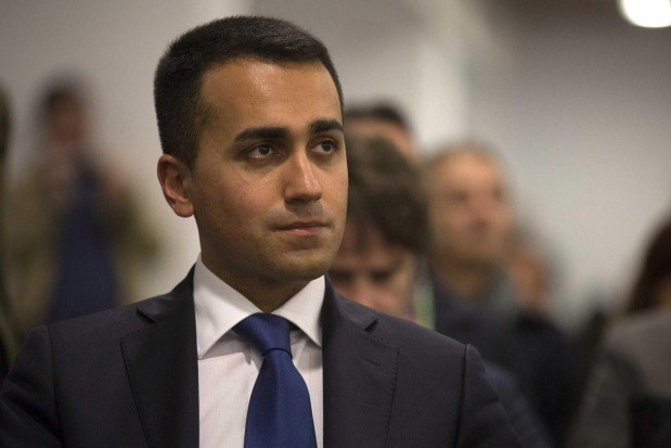 Luigi di Maio at the Senate
